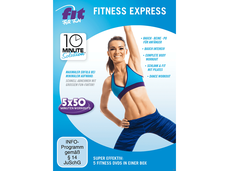 Fit For Fun - 10 Minute Solution - Fitness Express [DVD]