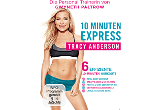 Tracy Anderson - 10 Minuten Express - (DVD)