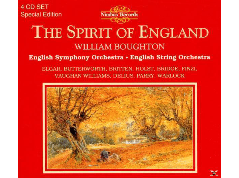 William Boughton, English Symphony Orchestra - Spirit Of England [CD]