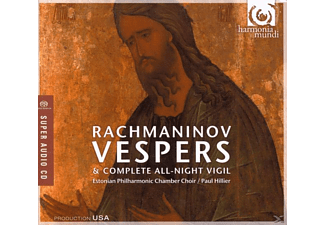 Estonian Philharmonic Chamber Choir - Vespern/All-Night Vigil Op.37 - (CD)