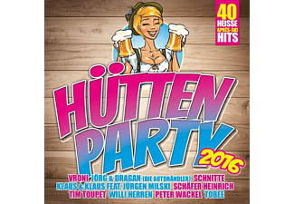 VARIOUS - Hütten Party 2016 [CD]