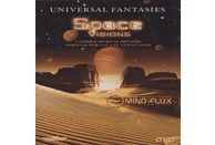 VARIOUS, Mind-flux - Universal Fantasies - Space Visions [DVD]
