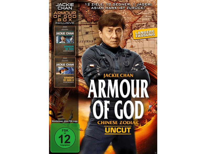 Jackie Chan-Armour of God Box [DVD]