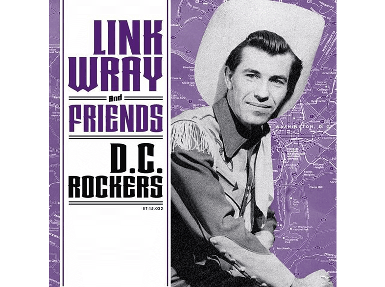 VARIOUS - LINK WRAY AND FRIENDS-DC ROCKERS [Vinyl]