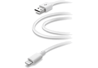 CELLULAR-LINE Lightning-naar-USB-kabel 2M Wit