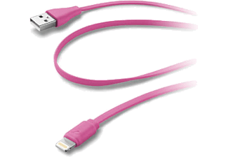 CELLULAR-LINE USB-naar-Lightning-kabel 1M Roze