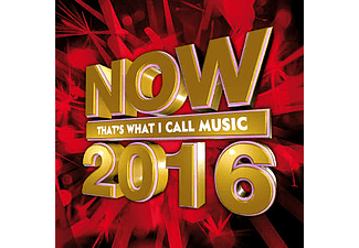 -  NOW Thats what I call music 2016 [CD]
