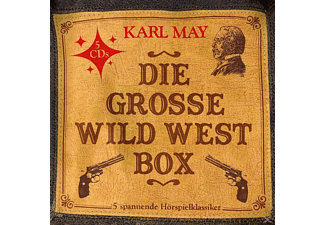 Karl May - Die Grosse Wild West Box (5  Hörspielklassiker) - (CD)