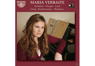 Maria Verbaite - Verbaite Plays Schubert/Chopin/+ - (CD)