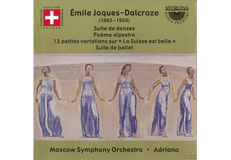 So Moscow & Adriano, Jaques-dalcroze - Jaques-Dalcroze Orchesterwerke - (CD)
