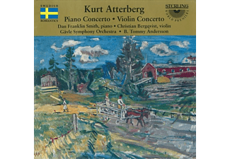 Smith, Bergqvist, Andersson - Piano Concerto / Violin Concerto - (CD)