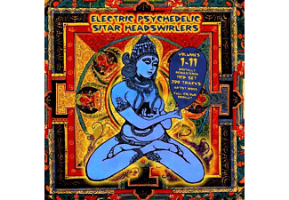 VARIOUS - Electric Psychedelic Sitar Headswirlers 1-11 - (CD)