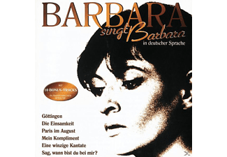 Barbara - Barbara Singt Barbara In Deutscher Sprache [CD]