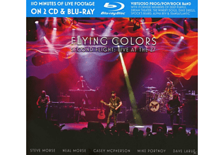 Flying Colors - Second Flight: Live At The Z7 (2cd+Blu-Ray) - (CD + Blu-ray Disc)
