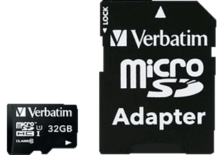 VERBATIM Premium U1 Micro SDHC 32GB plus adapter - (44083)