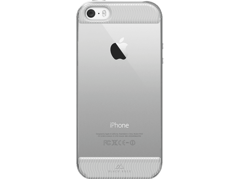 BLACK ROCK  Air Backcover Apple iPhone 5/5s Polycarbonat/Thermoplastisches Polyurethan Transparent | 04260237639503