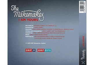 The Makemakes - I Am Yours - (CD)