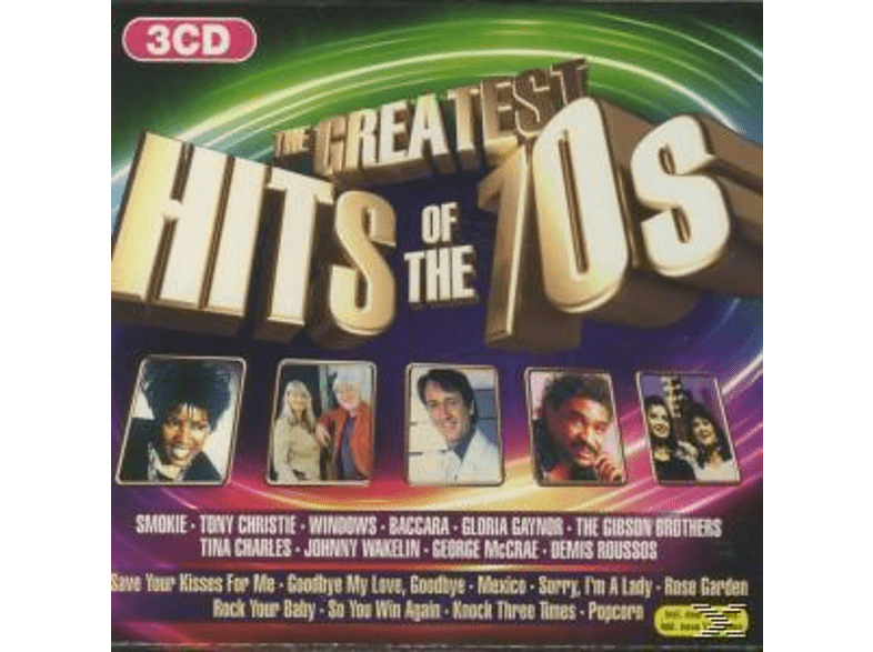 VARIOUS - The Greatest Hits Of The 70s (Disc 1) [CD]