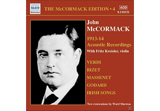 John Mccormack - Acoustic Recordings 1913-14 - (CD)