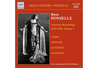 Rosa Ponselle - American Recordings Vol.3 - (CD)