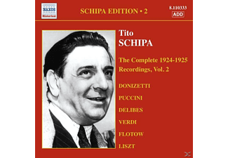 Tito Schipa - Complete 1924-25 Recordings 2 - (CD)