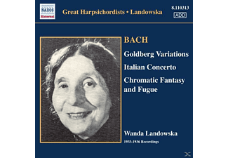 Landowska Wanda - Goldberg-Variationen - (CD)
