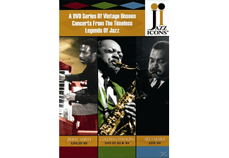 VARIOUS - Jazz Icons Box IV - (DVD)