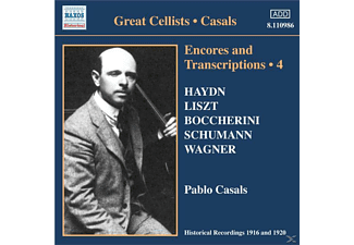 Casals Pablo - Encores+Transcriptions Vol.4 - (CD)