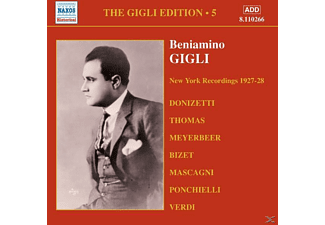 Beniamino Gigli - Camden And New York (Vol.5) - (CD)