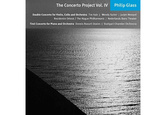 Russell Davies, Hempel, Residentie Orkest, Fain - The Concerto Project,vol.4 - (CD)