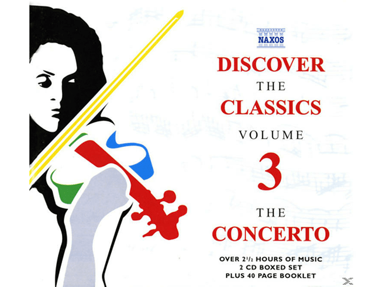 """VARIOUS - Discover the Classics 3 """"Concerto"""" [CD]"""