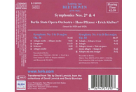 The Berlin State Opera Orchestra - Sinfonien 2+4 [CD]