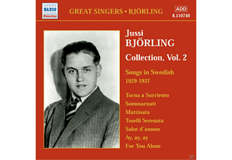Jussi Björling - Songs In Swedish 1929-1937 - (CD)
