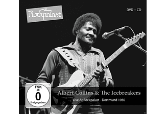 Albert Collins, The Icebreakers - Live At Rockpalast - (CD + DVD Video)