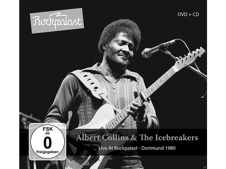 Albert Collins, The Icebreakers - Live At Rockpalast [CD + DVD Video]