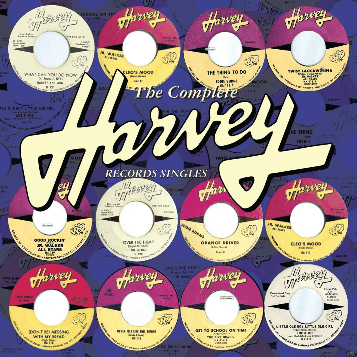 Complete Harvey Records VARIOUS auf CD