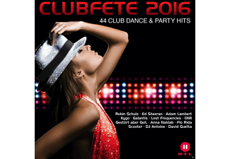 VARIOUS - Clubfete2016 -44 Club Dance & Party Hits - (CD)