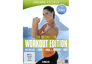Die ultimative Workout Edition - Johanna Fellner - (DVD)