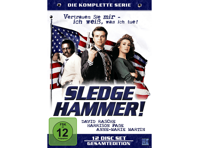 SLEDGE HAMMER - LIMITED SPECIAL EDITION [DVD]