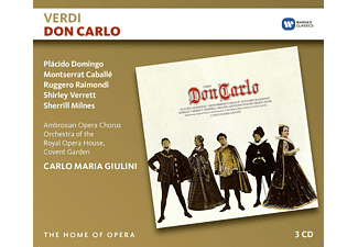 Giulini, Domingo, Verret, Raimondi, Montserrat Caballé - Don Carlo - (CD)