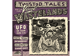 VARIOUS - Twisted Tales From The Vinyl Wastelands - Ufo On Farm Road 318 (Vol. 1) [CD]