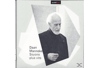 Daan Manneke - Soyons Plus Vite And Other Recordin - (CD)