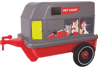 BIG 800056261 Bobby Car Pet Caddy, Grau, Rot