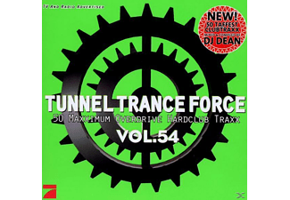 VARIOUS - Tunnel Trance Force Vol. 54 - (CD)