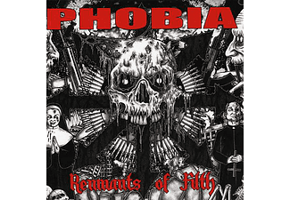 Phobia - Remnants of Filth (CD)