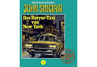 John Sinclair 03: Das Horror-Taxi von New York - 1 CD - Horror