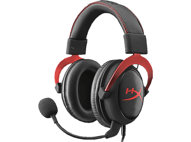 HYPERX Cloud II Gaming Headset Schwarz/Rot