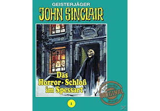 John Sinclair 01: Das Horror-Schloß im Spessart - 1 CD - Horror