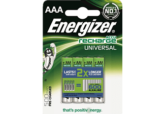 ENERGIZER F016307 AAA 500 mAh  PRECHARGED