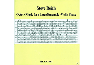 Steve Reich - OKTETT MUSIC FOR A LARGE ENSEMBLE VIOLIN PHASE [CD]
